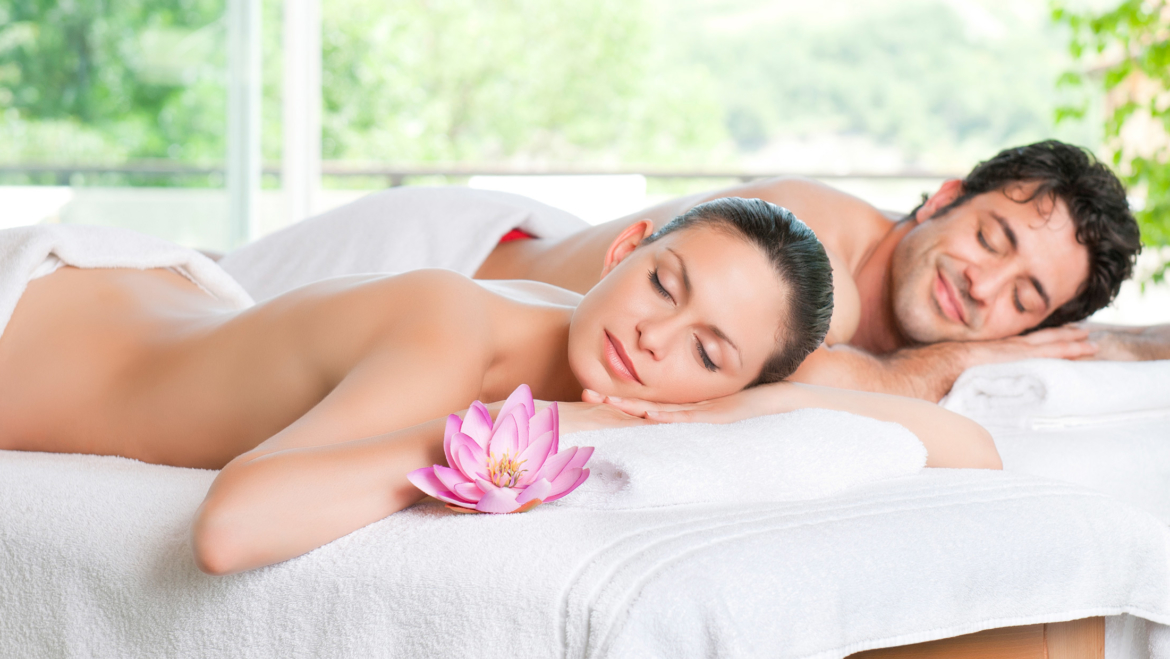 Enjoyable relaxation together – Massage for couples